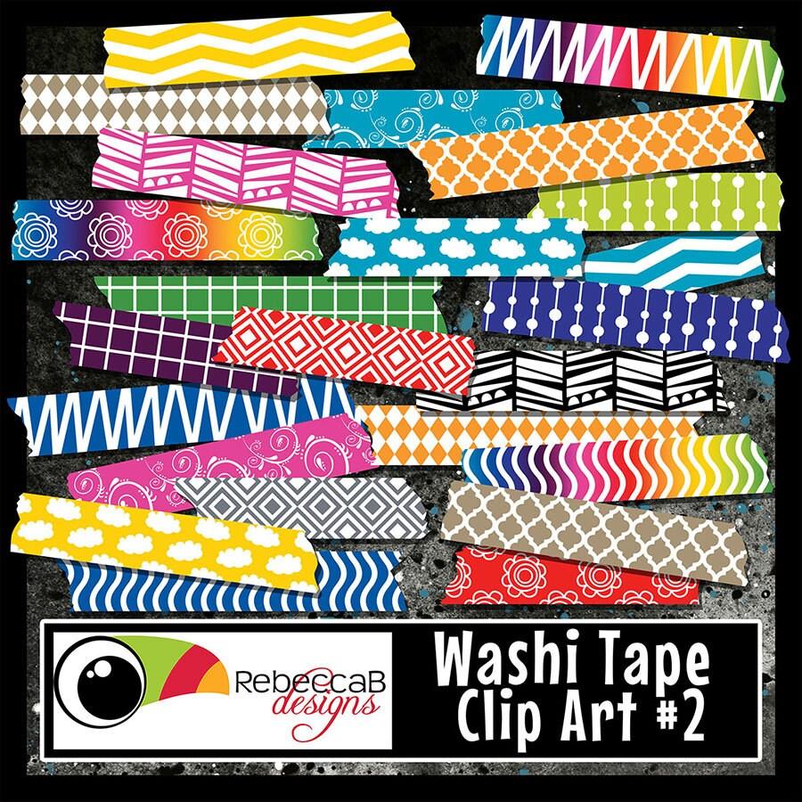 washi tape set washi tape clip art washi tape patterned. Black Bedroom Furniture Sets. Home Design Ideas
