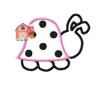 Lady bug applique design, Ladybug applique design