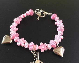 Pink Unicorn Bracelet