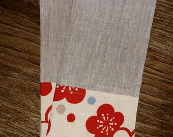 Linen and Japanese Cotton Tea Towels