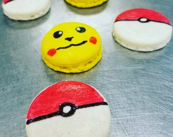 Pokemon Macarons - Box of 10
