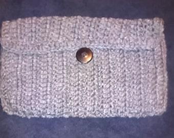 Small grey purse