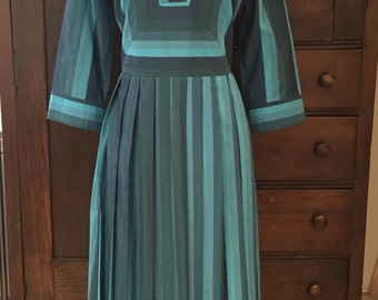 1950's Style June Cleaver Cotton Dress by Isaac Mizrahi