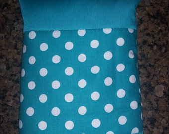 Blue&White Polka-Dotted Themed Hot/Cold Therapy Bag