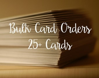 Bulk Greeting Cards - Your Choice!