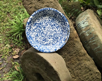 spatterware pie plate