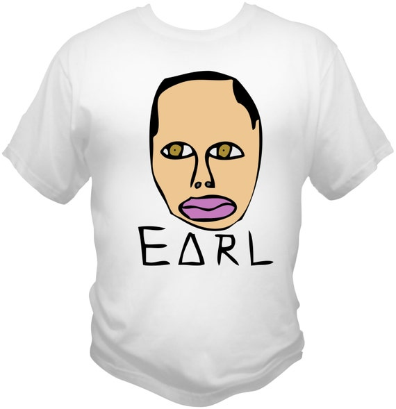 Earl Sweatshirt T-SHIRT Golf Wang, Odd Future, Frank Ocean, Tyler The Creator