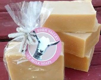 All Natural Pink Grapefruit Goat Milk Soap 4 oz.