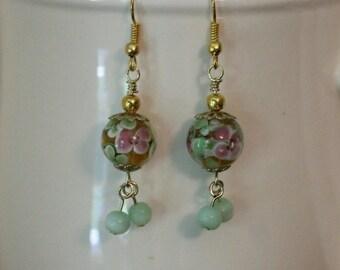 Yellow Lampwork Beads by 4C'sBeadworks