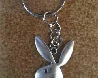 Playboy Bunny Keychain