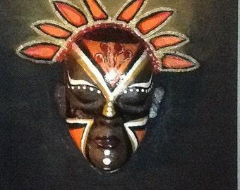 Sculptured Mask Art