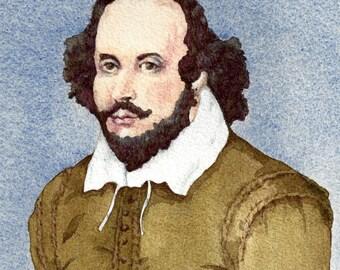 William Shakespeare Texas Shakespreare Fesitval  Fine Art Print