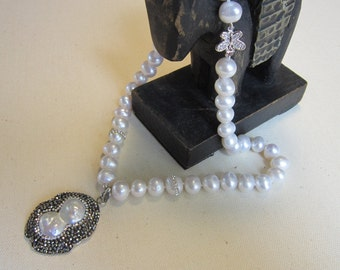 18 in. Fresh Water Pearl Necklace