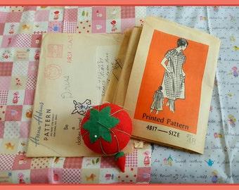 1970s Anne Adams 4817 Sewing Pattern Uncut Size 48