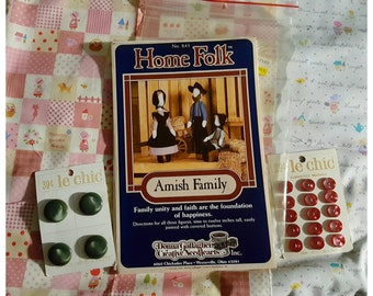 1985 Home Folk Amish Family Sewing Pattern