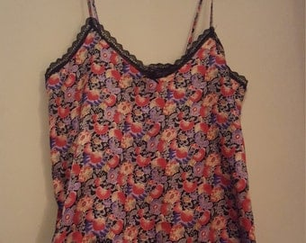 Silky Floral Camisole