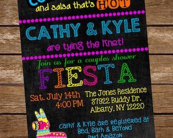 Couples Shower Fiesta Invite, Couples Shower Invitation, Mexican Couples Shower, Fiesta Shower Invitation