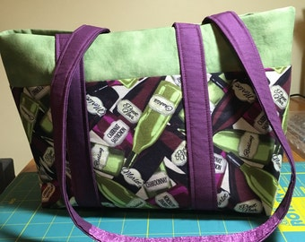 Tote Bag with 6 OUTER Pockets - CUSTOM