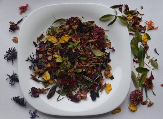 10 us cups 2 l mix dried flowers petals dried garden