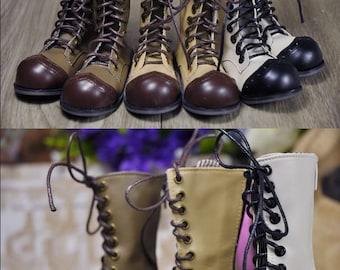 CODENOiR - Clown boots BJD shoes for msd / Slimi msd / mdd / angel philia / 1/4 BJD (3 colors)