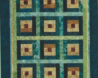 Batiks with Bali Pops Quilt Pattern