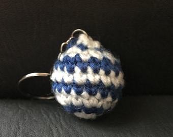 Hanukkah Ornament Keychain