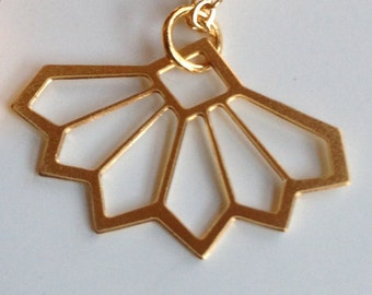 I'm a Fan, Necklace in Gold