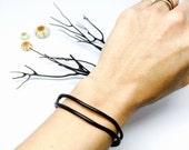 Genuine Black Coral Branch Cuff Bracelet 5