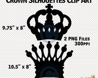 Crown Silhouettes, King and Queen Crown Silhouettes, King Crown Clip Art, Queen Crown Clip Art, Crown Clipart, Crown Cliparts, Silhouettes