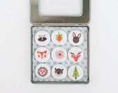 Woodland Creature Magnets