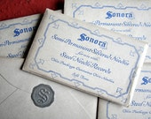 5 Vintage Packages Sonora Silvered NEEDLE for Steel Needle RECORDS Ephemera Music Collectable Curiosity Cabinet SUPPLIES Assemblage Unusual