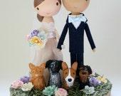 custom wedding cake topper - order for - OLIVIAJCARPENTER