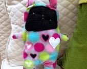 Valentino ~ The Bunny Bummlie ~ Stuffingless Dog Toy