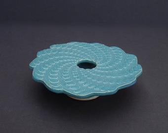 Spiral Pottery Flower Vase