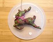 Primitive  Christmas Reindeer Ornament Decoration Bowl Filler