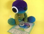 Spectrum the Amigurumi Rainbow Voodoo Doll