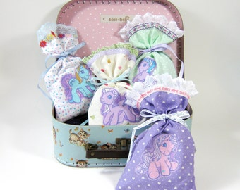 Lilac Pinkie Pie Lavender Bag fulled with Organic English Lavender