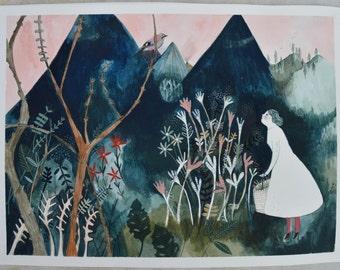 Jay Mountain - Original painting