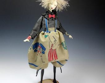Calliope - OOAK Art doll