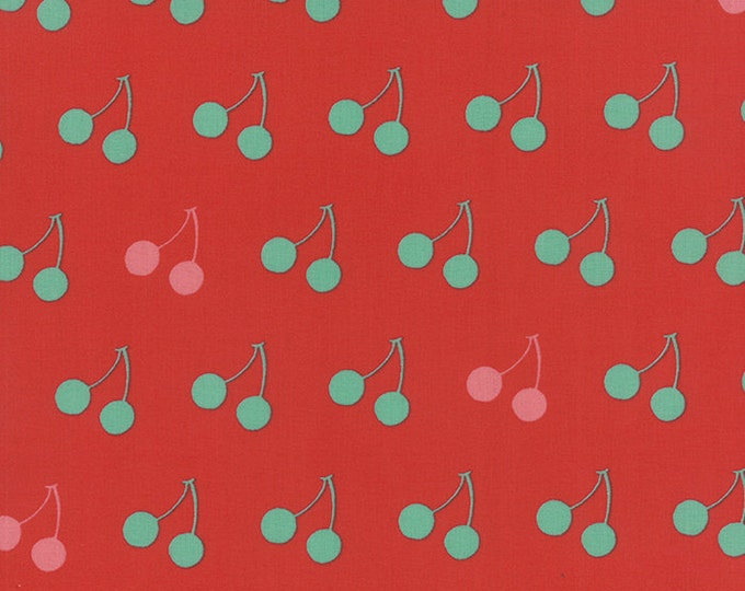 SALE fabric, 6 dollars/ yard sale, Cherry Fabric, Red fabric, Cotton fabric by the yard, Choose your cut