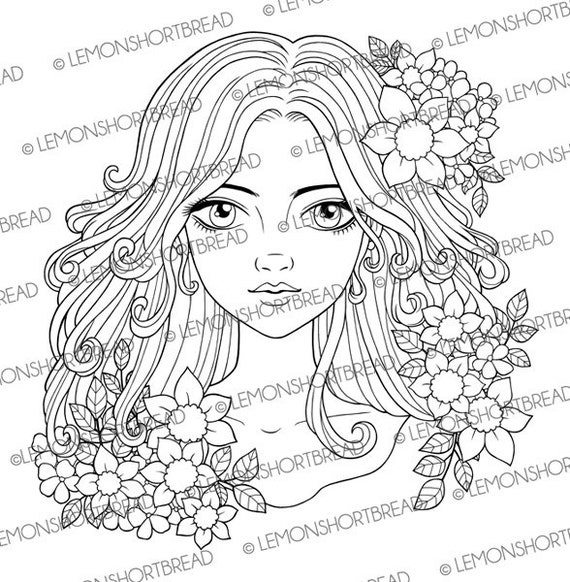 https://www.etsy.com/listing/269374195/flowers-and-curls-girl-digital-stamp