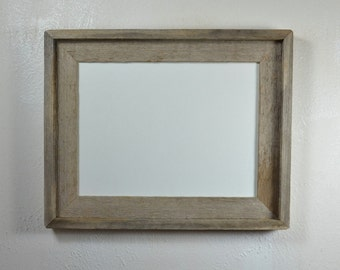 "9"" x 12"" picture frame from eco friendly reclaimed wood"