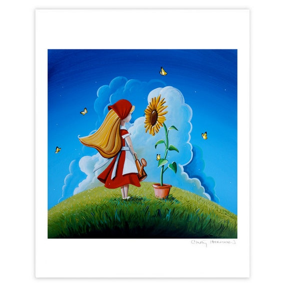 Dreamer Series Limited Edition - Hello Sunshine - Signed 8x10 Semi Gloss Print (3/10)