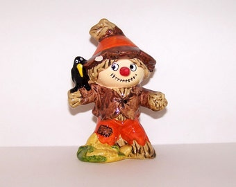 Vintage Inarco Scarecrow Figurine