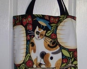 Bags and Purses Large Tote Bag with Brown Cats Accessaries  Women Purses and Bags Cat Theme Market Bag Weekend Carry on Bag  Fall Bags  Cats