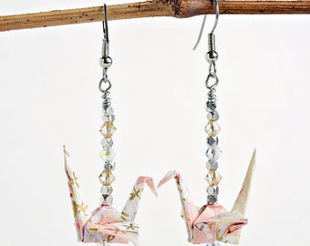 Boho earrings for sister| Pink jewelry for girlfriend| Pink jewelry for wife| Pink earrings for daughter| Gift-for-her| Pink jewelry for mom