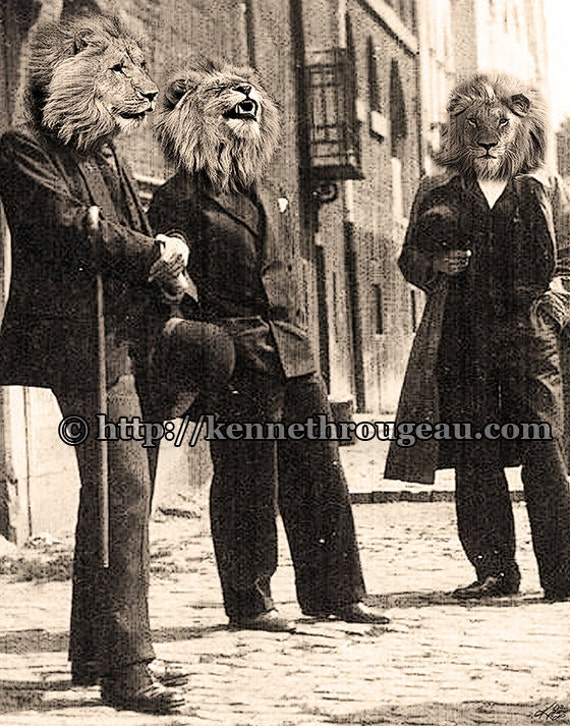 Dandy Lions 8x10 Print (by Kenneth Rougeau)