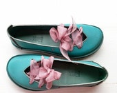 Granny chic, CLARA, Handmade Leather Fairytale Inspired Comfort Shoes, pick a colour