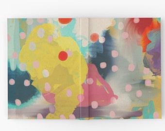 Hardcover Journal - Abstract Art Chaos Contemporary Modern Art