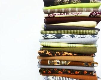 10 Neutral Cloth Napkins Cloth Unpaper Towels Mixed Natural Hues Reusable Paper Towels - Fabric Napkins - Cloth Paper Towels Mixed Setcb